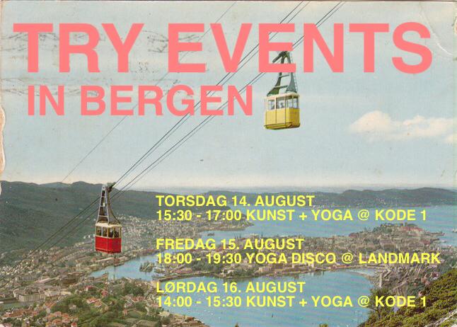 Tryevents in Bergen august 2014