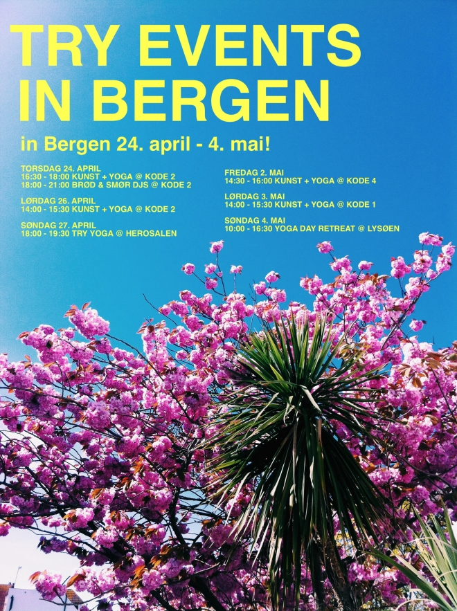 Bergen spring yoga events