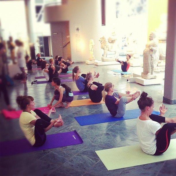 Kunst Yoga