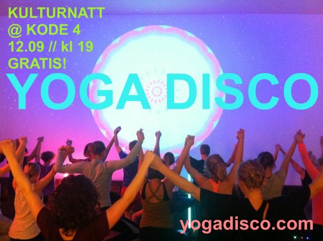 Yoga Disco Kulturnatt
