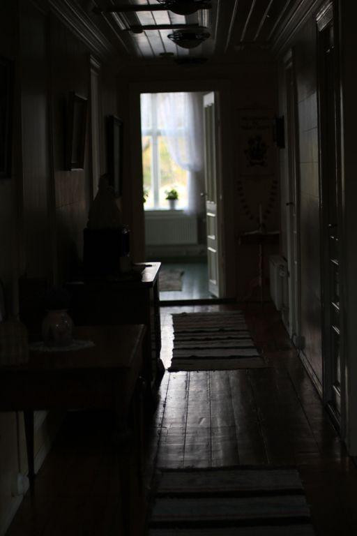 hallway in villa
