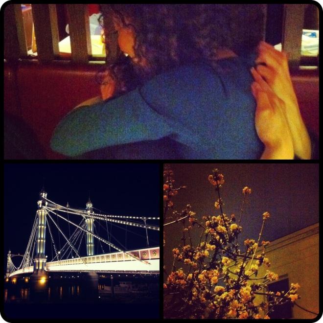 London, love, light