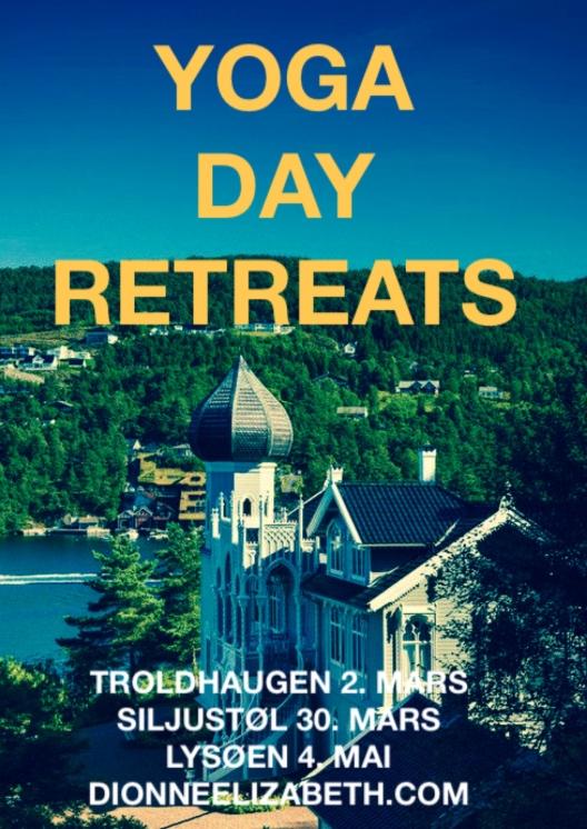 Yoga Day Retreats poster 2014