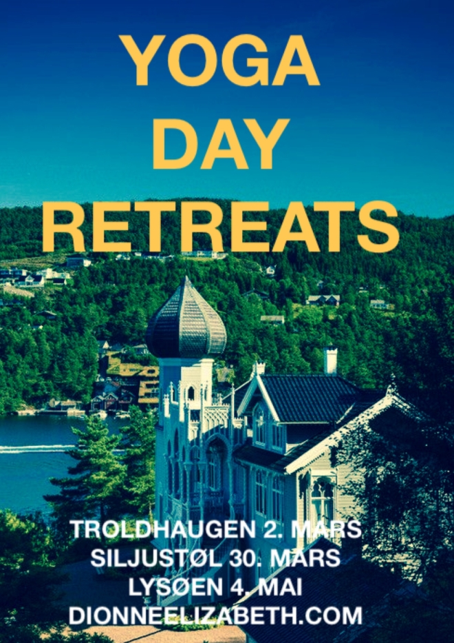 Yoga Day Retreats poster 2014
