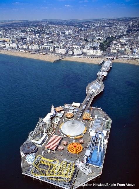 Brighton's Palace Pier, England.
