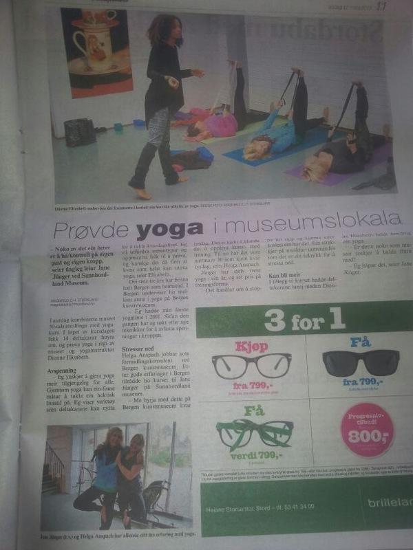 dionne yoga stord