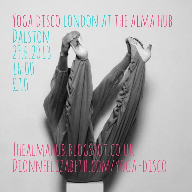 yoga disco London