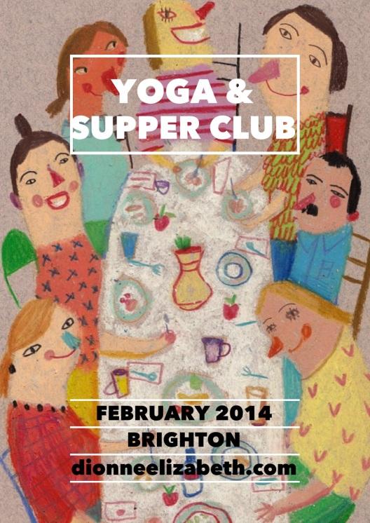 yoga + supper club