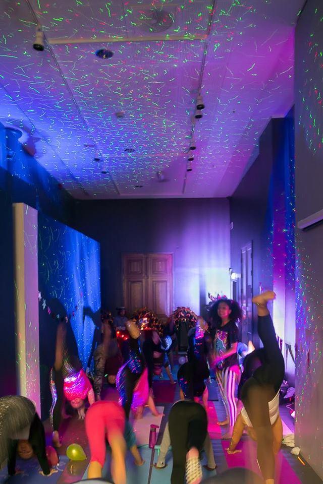 yoga disco kulturnatt 2