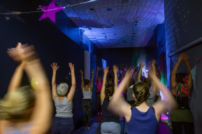 kulturnatt yoga disco