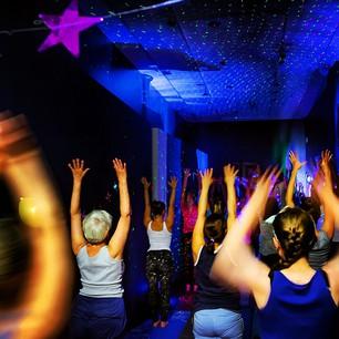 yoga disco