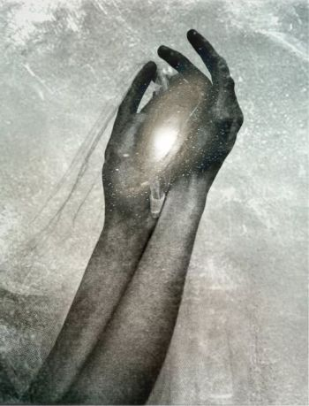"""A whole universe in my hands"" by Krist Mort"