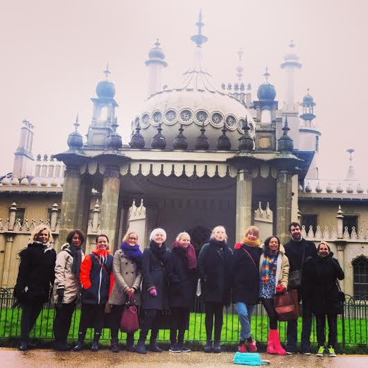 yoga creativity retreat Brighton January