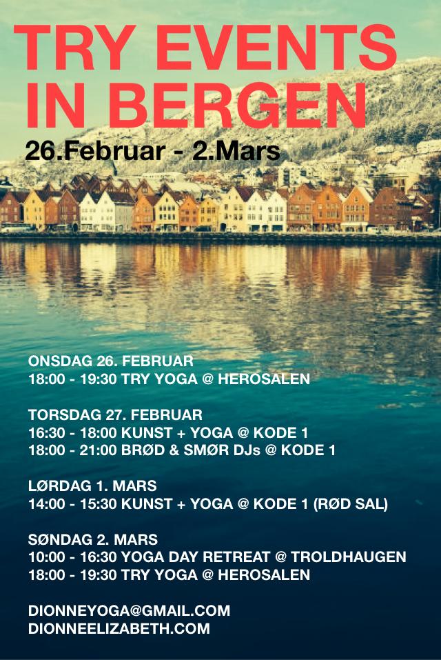 Bergen trip 2 feb march