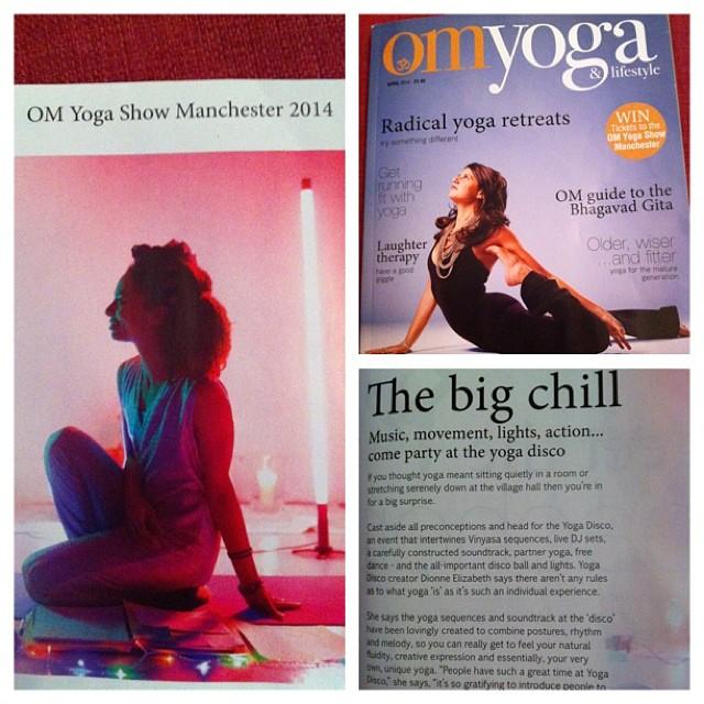 om yoga magazine yoga disco