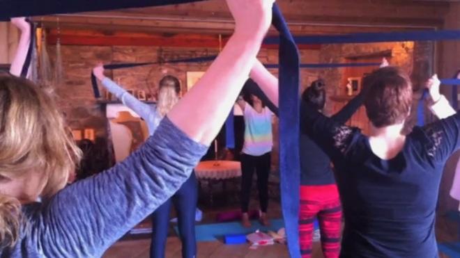 yoga at siljustøl