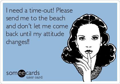 send me to the beach
