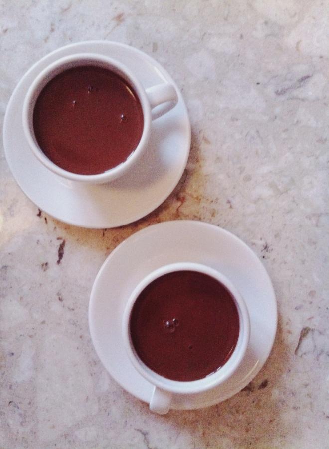 raw hot chocolate