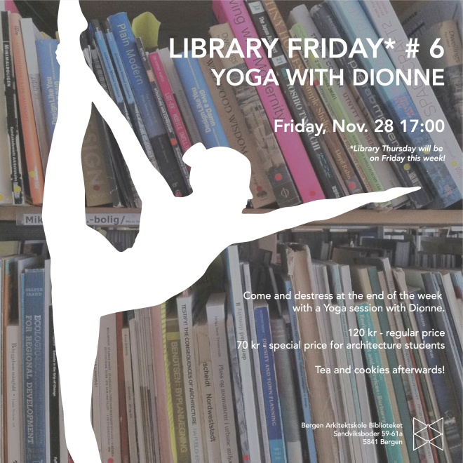 Library Thursday_bergen yoga