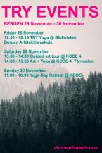 Bergen events Nov Dec