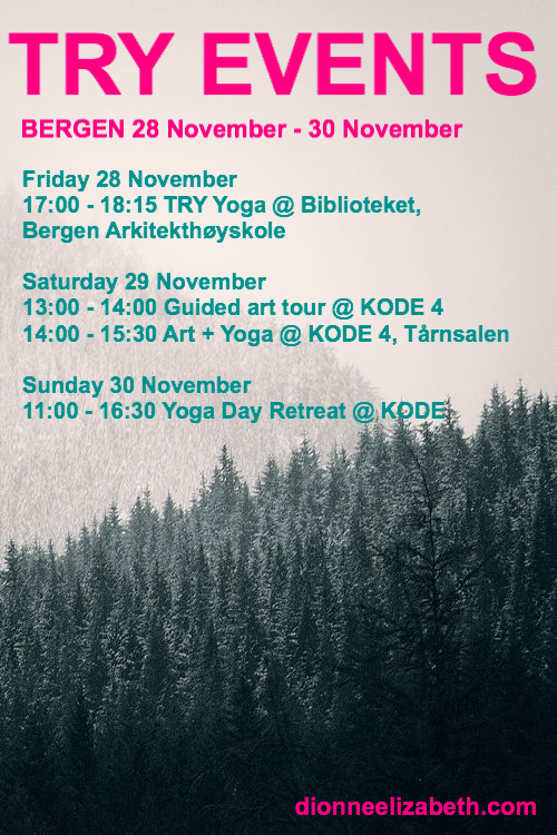 Bergen events Nov Dec