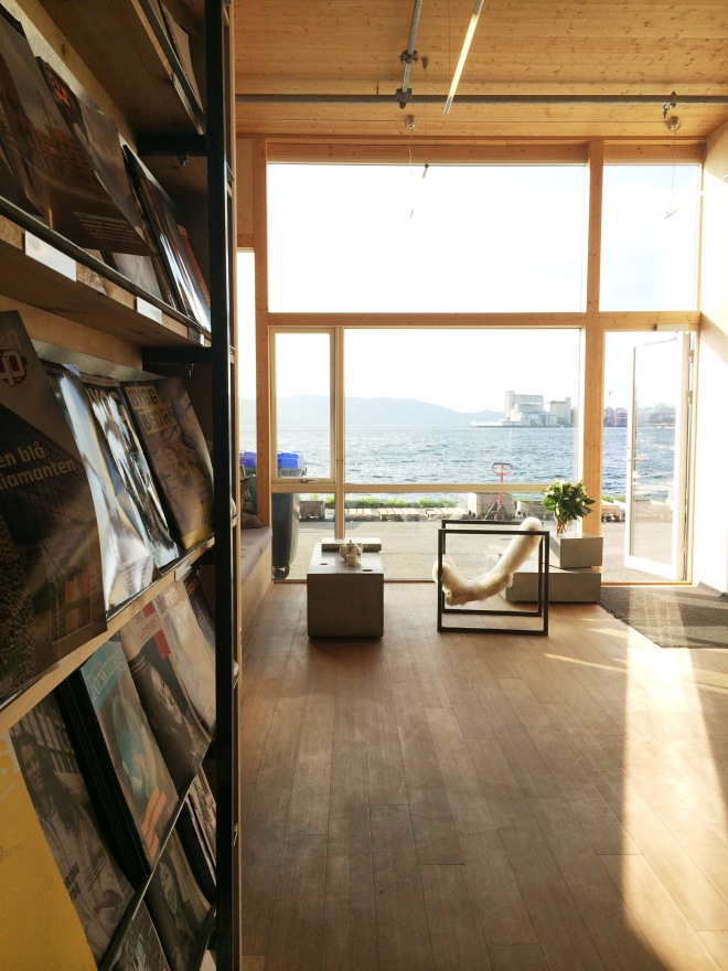 Architecture school of Bergen Library location