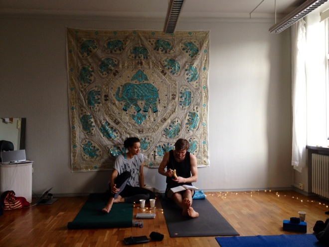 yoga self care workshop