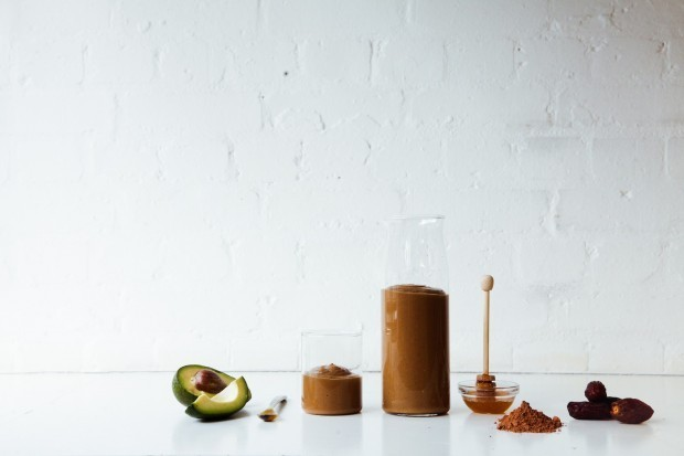 cacao avocado smoothie