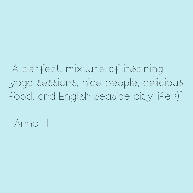 Anne Retreat Quote